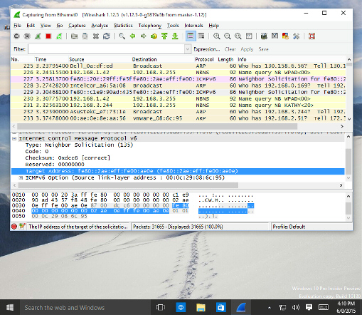 Win10Pcap How to use - WinPcap for Windows 10